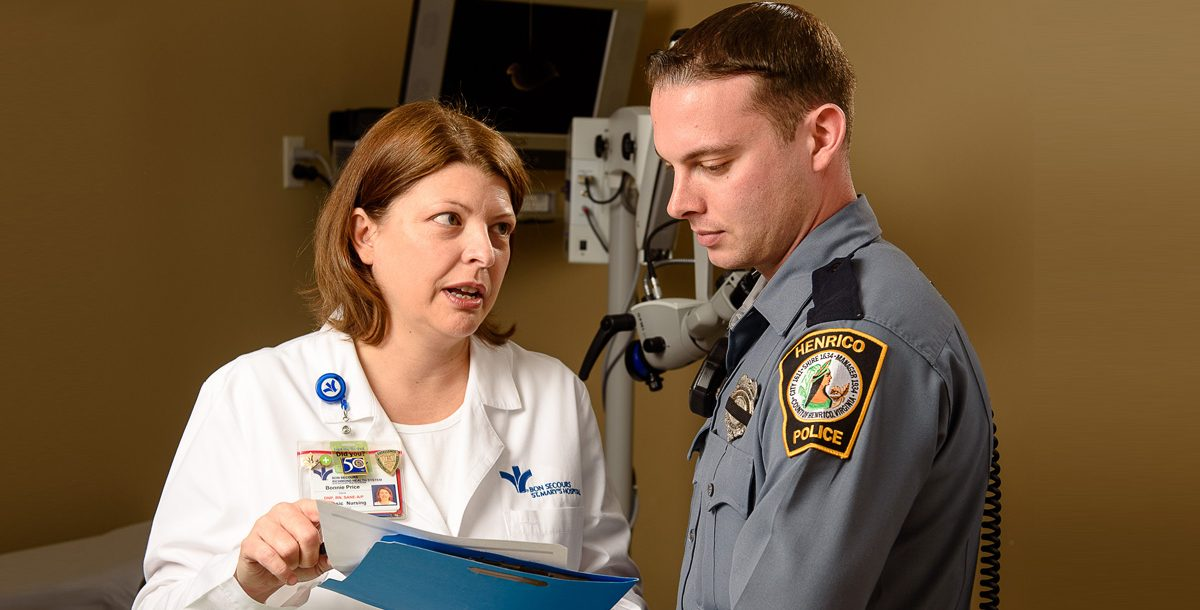 Bonnie Price And The Forensic Nursing Program Bon Secours Blog