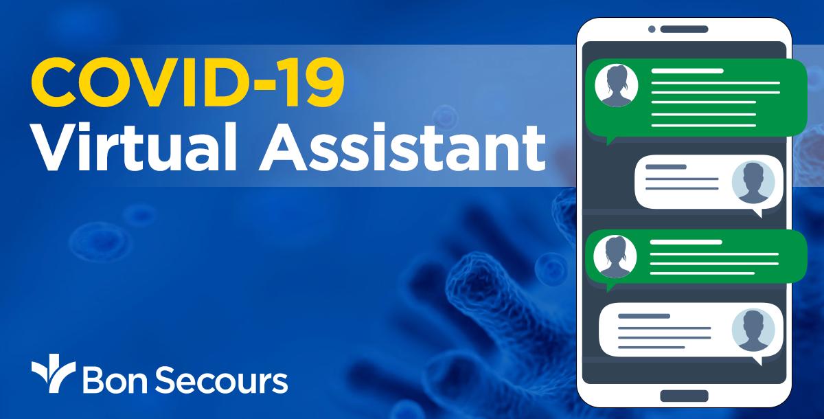Bon Secours COVID-19 virtual assistant