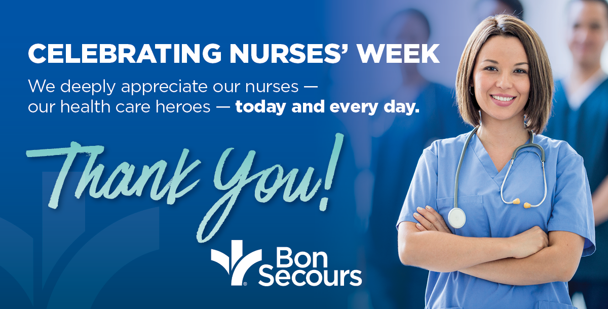 National Nurses' Week thank you graphic