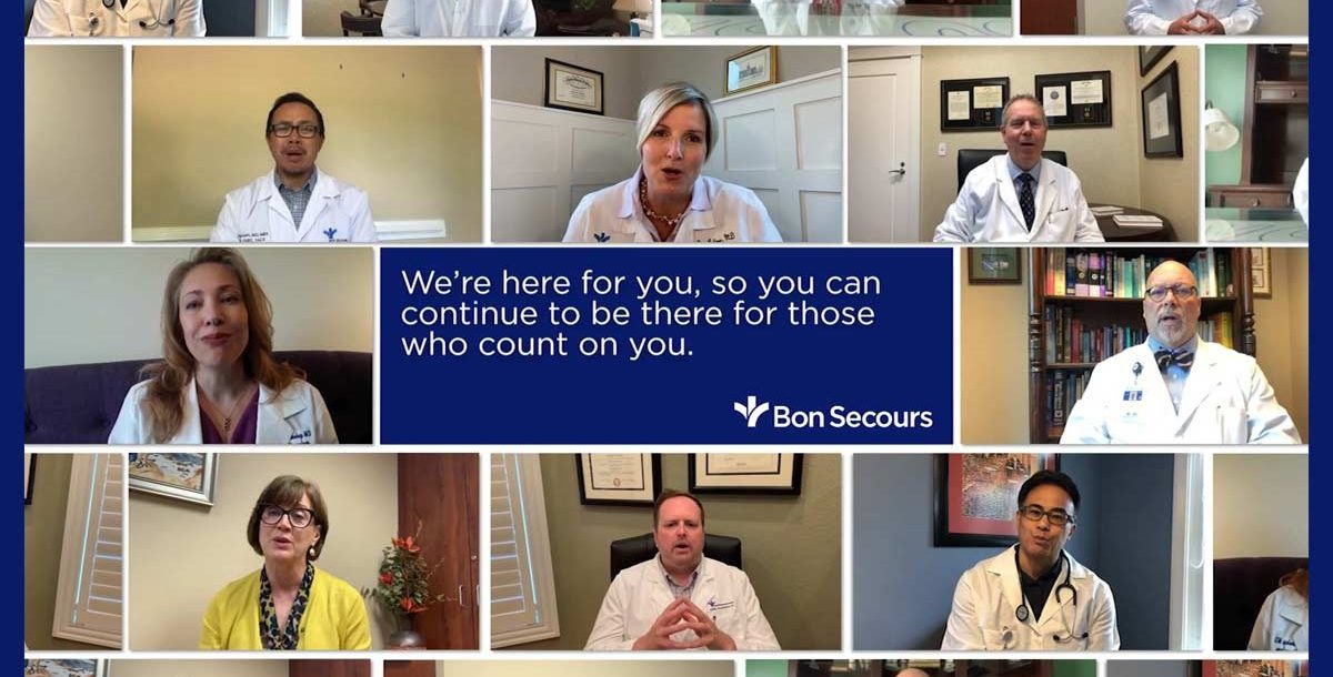 A photo compilation of some of our Bon Secours providers