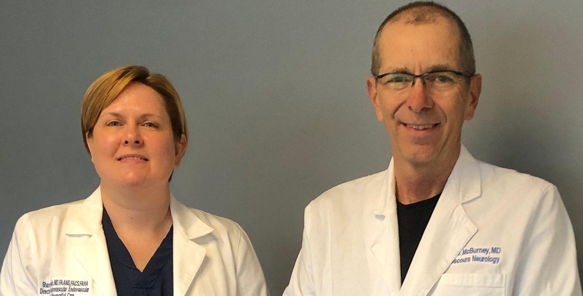 John McBurney, MD, and Sharon Webb, MD