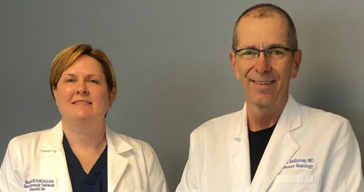 John McBurney, MD, and Sharon Webb, MD