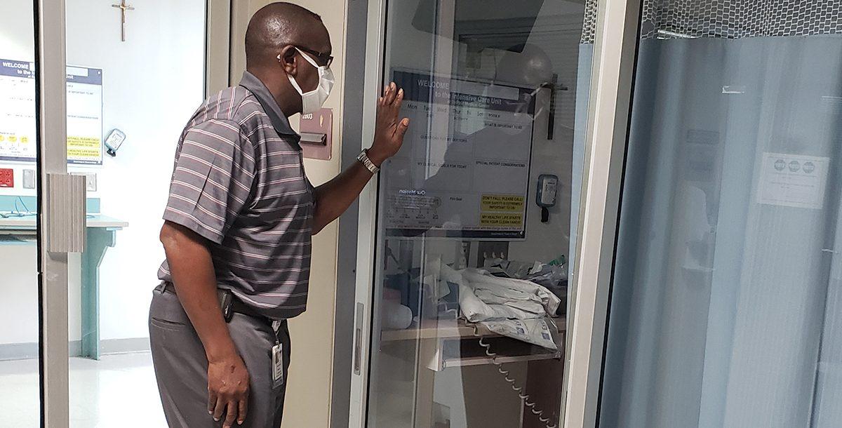 Raymond, chaplain at Bon Secours DePaul Medical Center