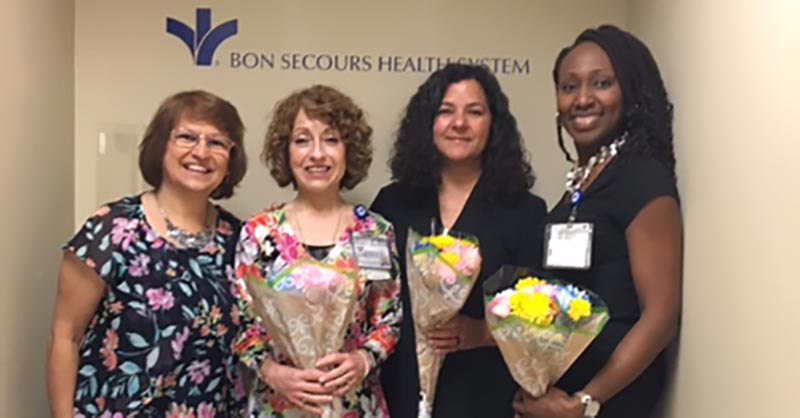 A photo of the Bon Secours language services team in Richmond, VA.