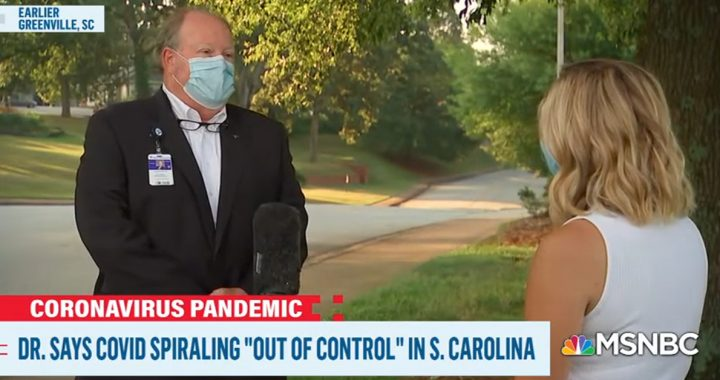 A part of the MSNBC interview with our Bon Secours physicians