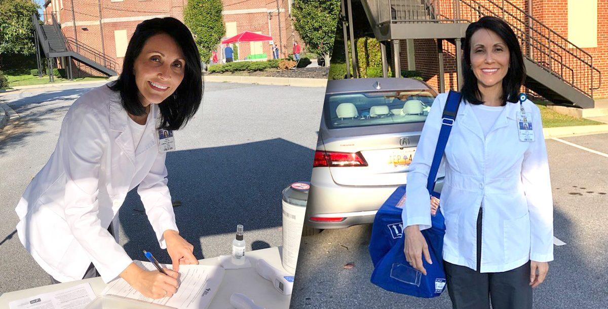 Irene Pena serving the Greenville community.