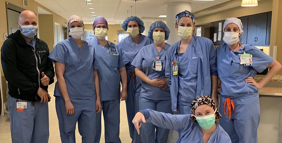 The Bon Secours St. Mary's Hospital Intensive Care Unit (ICU) Team