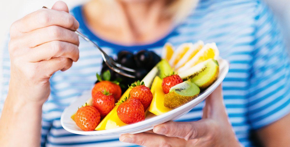 Foods rich in Vitamin C.
