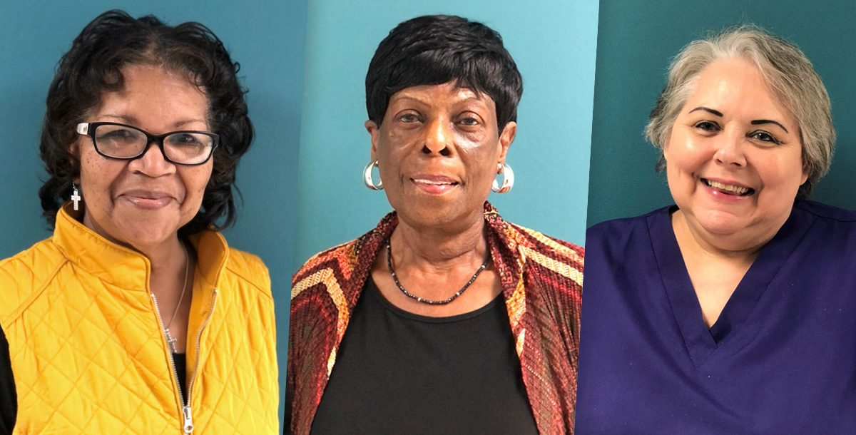 Patsy West, Lillian Haynes and Gwen Cox