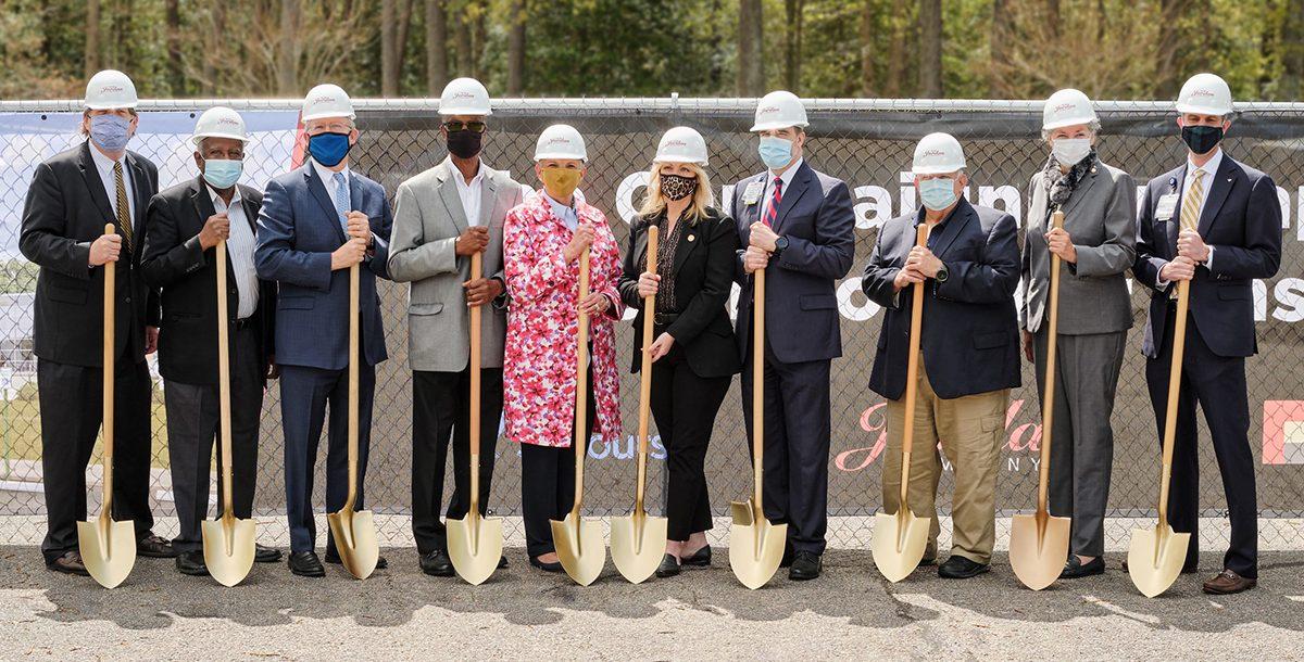 Rappahannock General Hospital Renovation and Expansion Groundbreaking