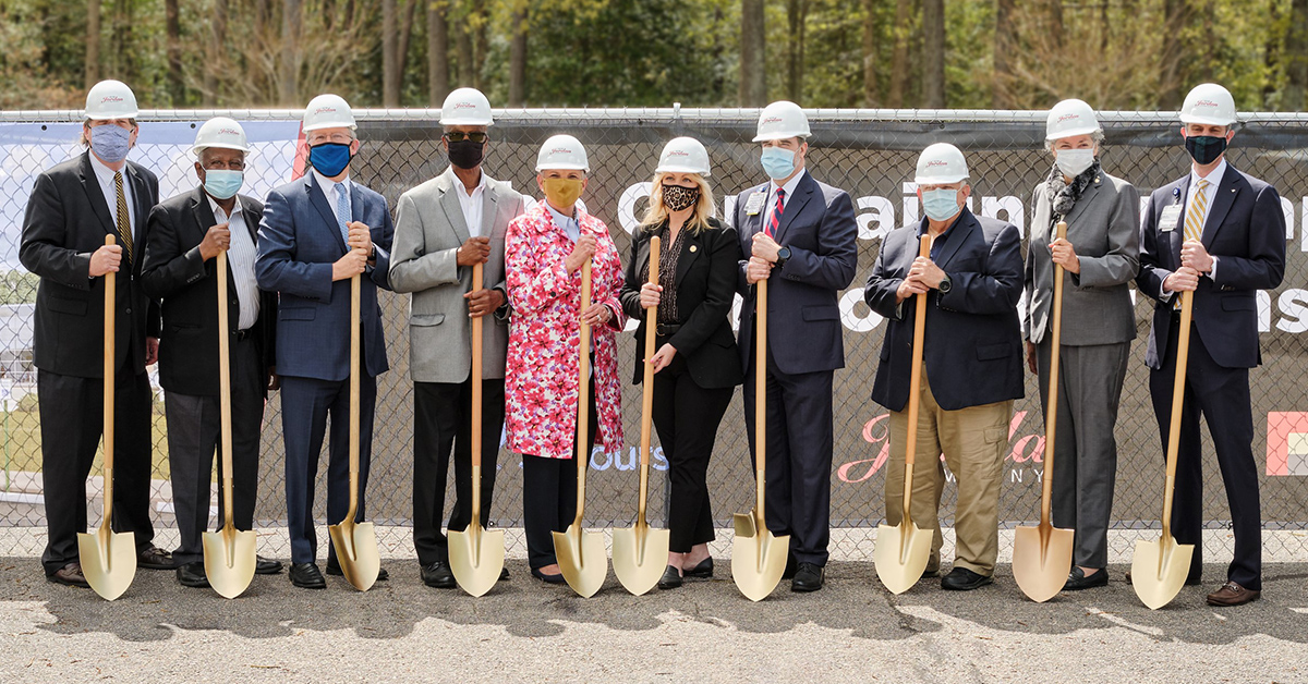 Rappahannock General Hospital Renovation and Expansion Groundbreaking