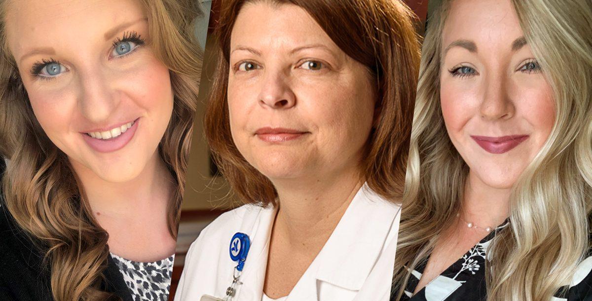 three members of our forensic nursing team