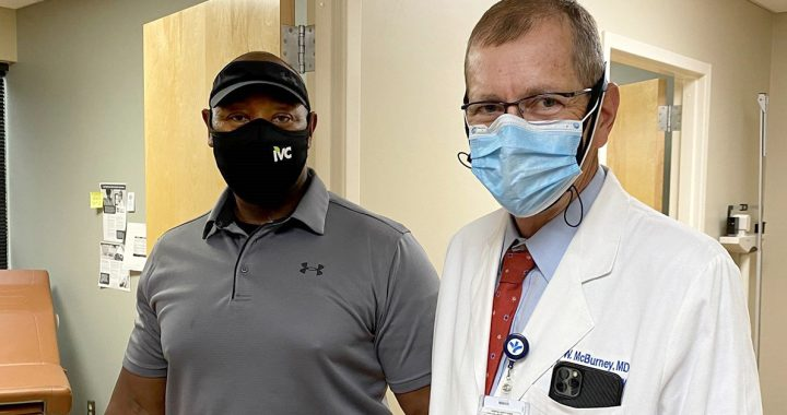 Julius and Dr. McBurney