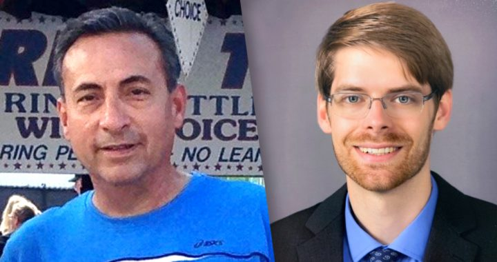 Matt Cione and Dr. James Davidson