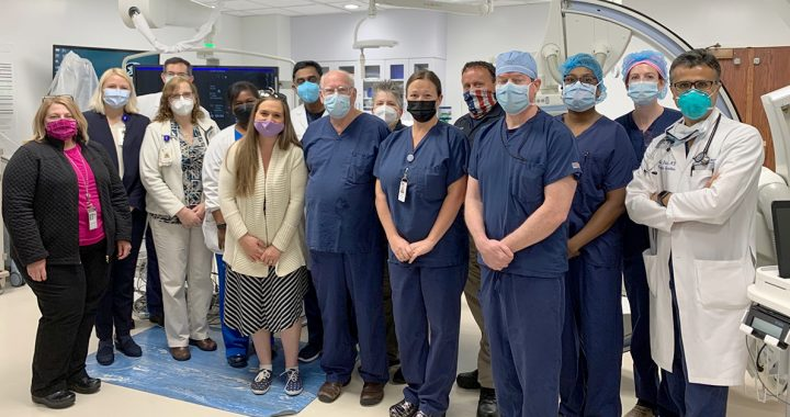 Our Maryview Medical Center heart team.