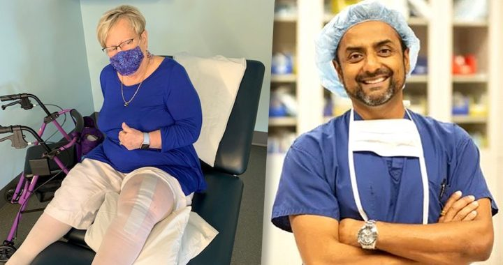 Pam Phillips and Dr. Manish Patel