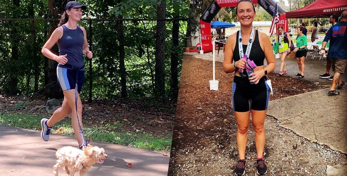 Heather Freeman running