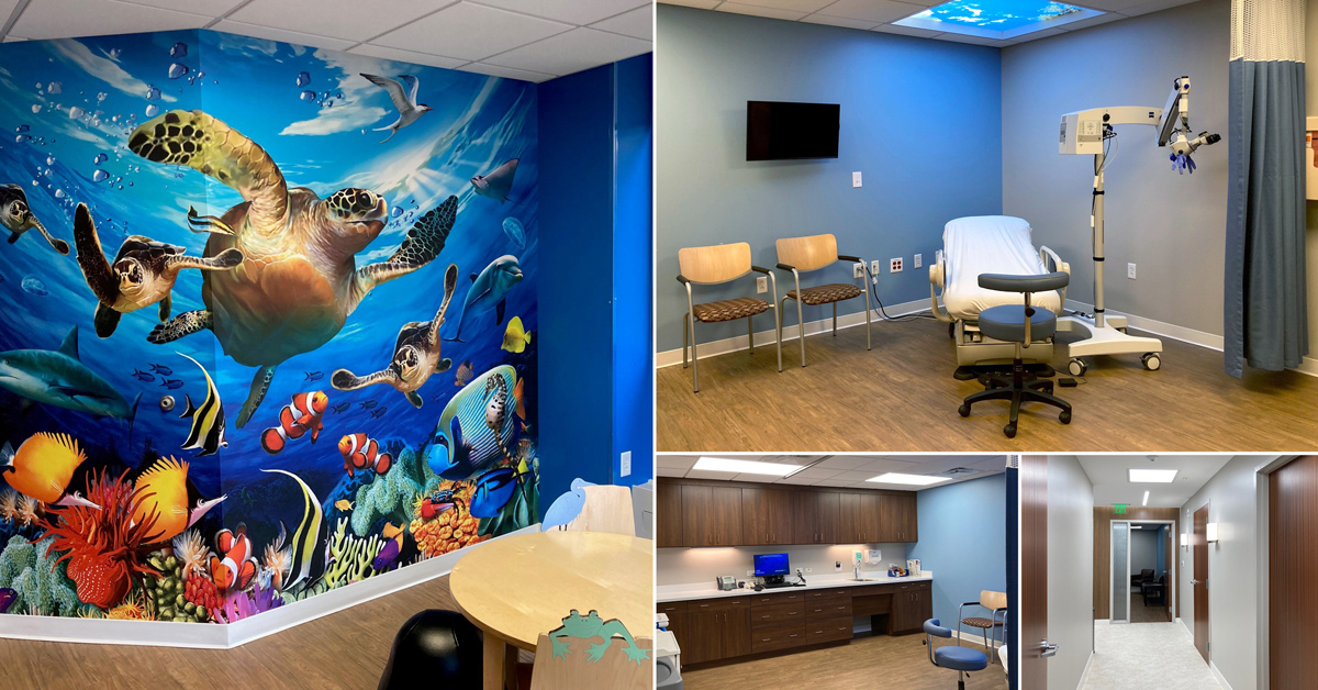The new violence prevention space at Bon Secours St. Mary's Hospital.