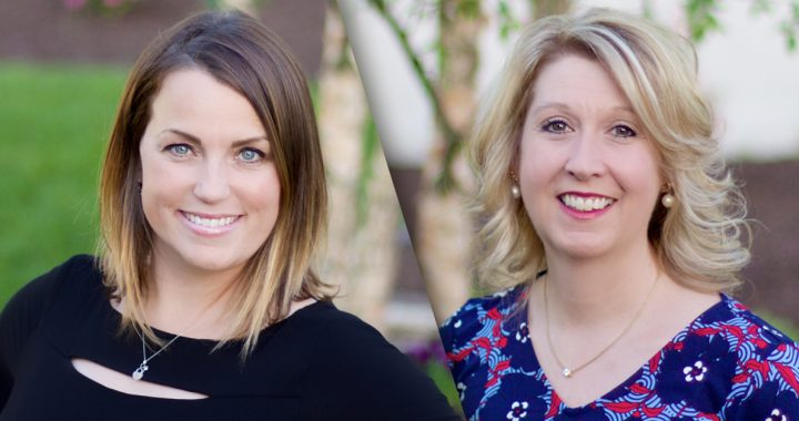 Lee-Ann Parker and Dana Taylor